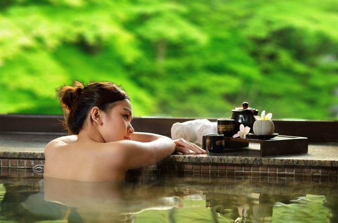 Bathing Osmanthus SPA
